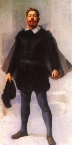 Camões em pintura de José Malhoa.
